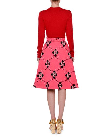 Ladybug Intarsia Sweater