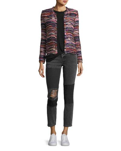 Namantha Multi-Boucle Long-Sleeve Jacket and Matching Items