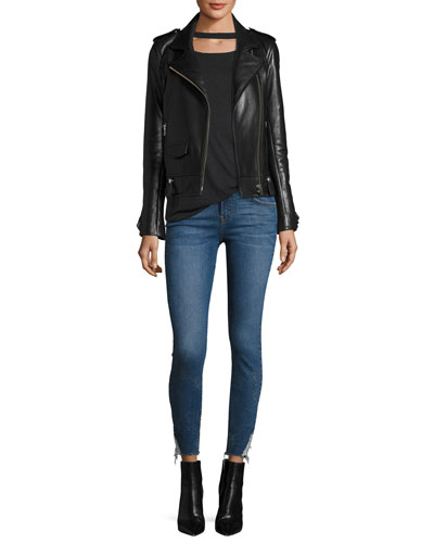 Jarod Cropped Mid-Rise Skinny Jeans and Matching Items
