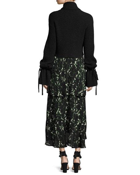 Emille Long-Sleeve Turtleneck Sweater