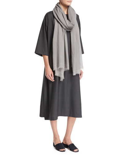 Fringed Cashmere Scarf and Matching Items