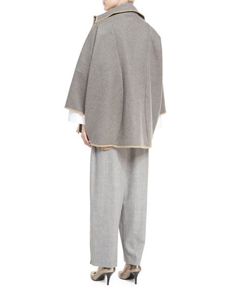 Wool Japanese Trousers