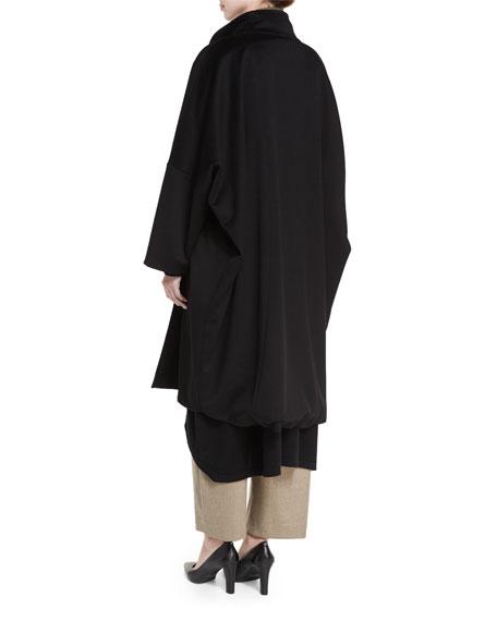 Round-Neck Cashmere Dress