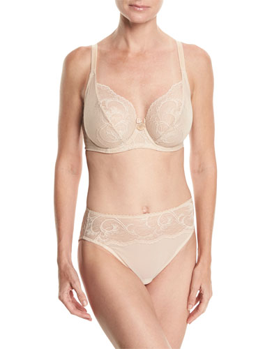Distinguished Elegance Underwire Bra and Matching Items
