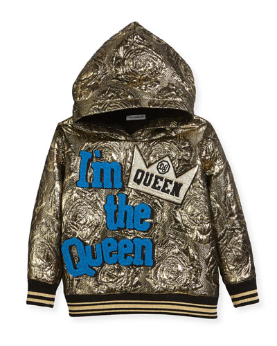 I'm the Queen Metallic Hoodie, Size 4-6 and Matching Items
