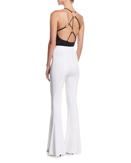 Thalia Strappy Halter Bodysuit