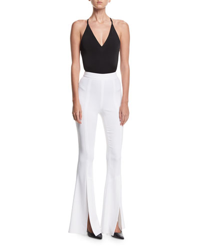 Eden Split-Hem High-Waist Pants and Matching Items