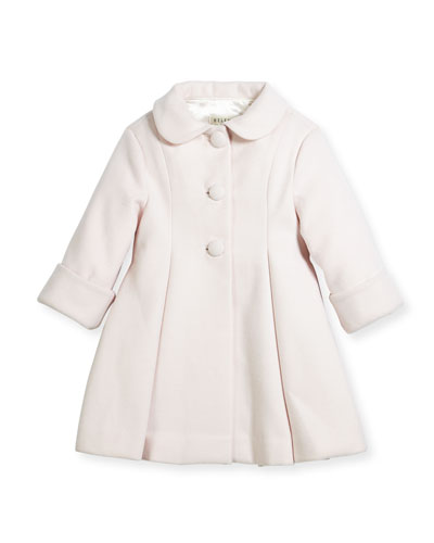 Wool Topper Coat, Pink, Size 2-6 and Matching Items