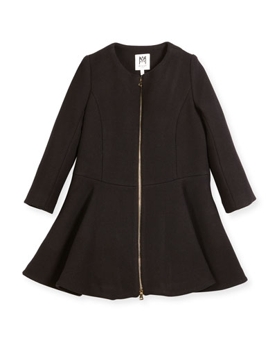Emma Double-Face Wool-Blend Coat, Size 8-16 and Matching Items