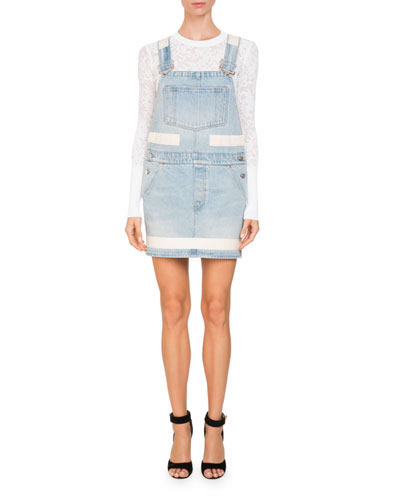 Denim Overall Dress and Matching Items