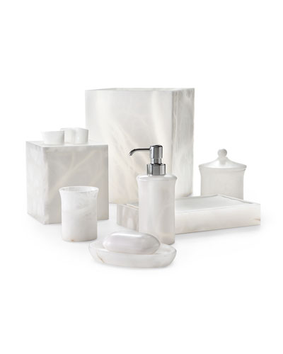 Alisa Alabaster Tumbler, White and Matching Items