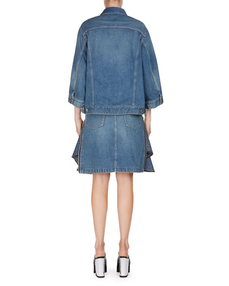 Batwing Denim Jacket