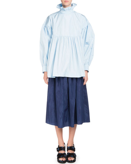 La Collection Memento N°1 Tie-Waist Midi Skirt