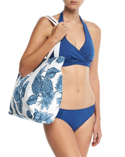 Ruched-Side Retro Swim Bottom and Matching Items