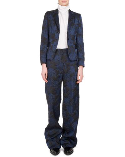 Panter Brocade Wide-Leg Pants and Matching Items