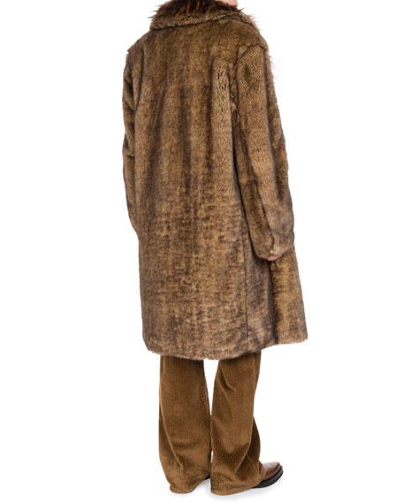 Rentin Triple-Layer Faux Fur Coat