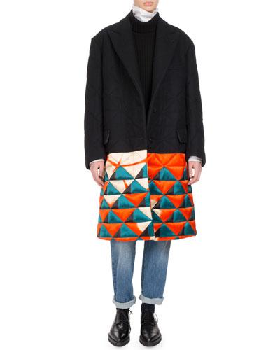 Remigino Quilt-Hem Coat and Matching Items