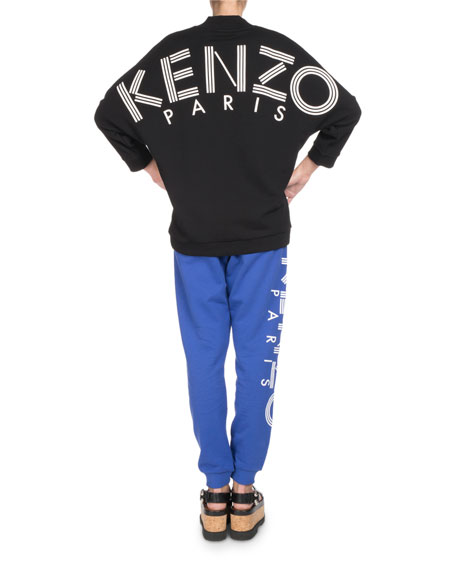 Drawstring Jogger Pants with Logo