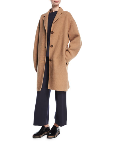 Classic Camel Hair Coat and Matching Items