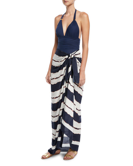 Isla Cover-Up Sarong, One Size