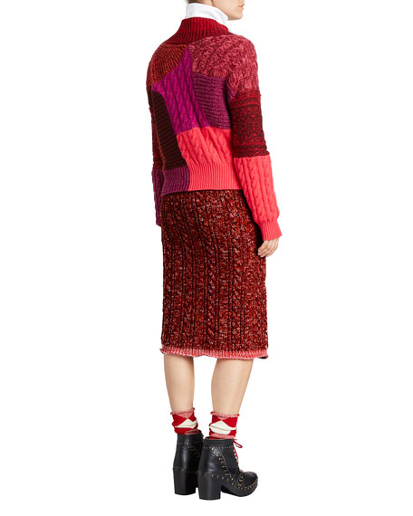 Fair Isle Knit Skirt