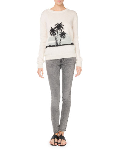Knit Palm Tree Sweater and Matching Items
