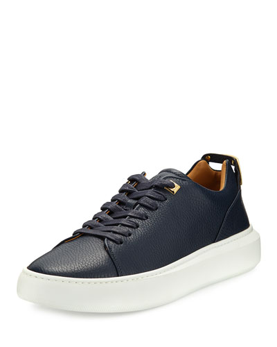 Men's 50mm Leather Low-Top Sneaker and Matching Items