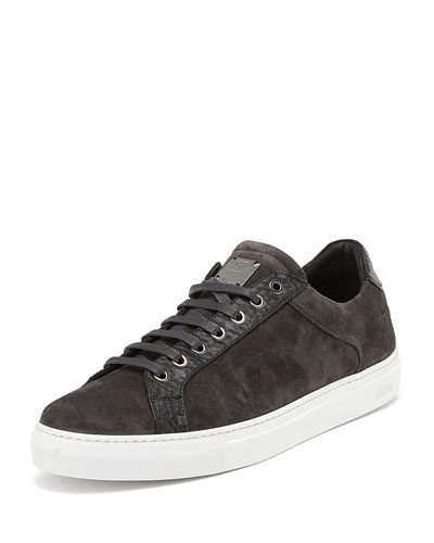Suede Low-Top Sneaker and Matching Items
