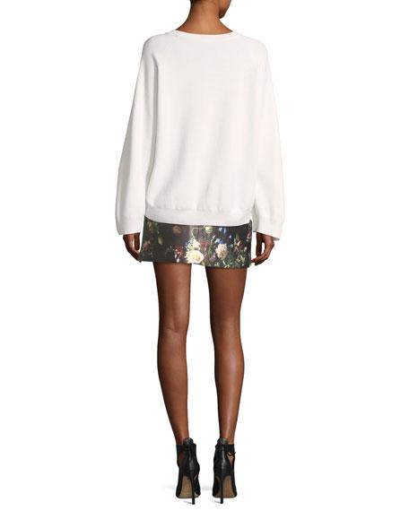 Double-Face Merino Wool Sweater