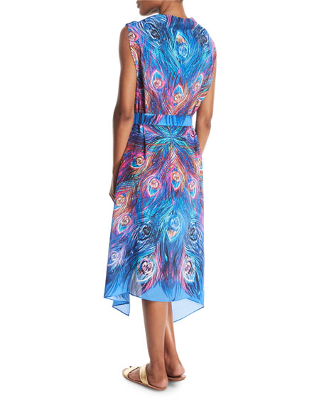Dream Catcher Silk Pareo Coverup