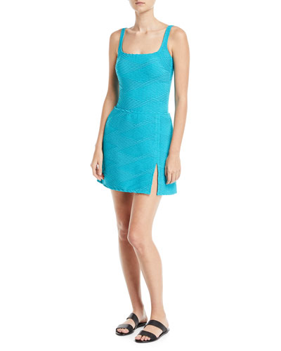 Essence Textured Swim Coverup Mini Skirt and Matching Items