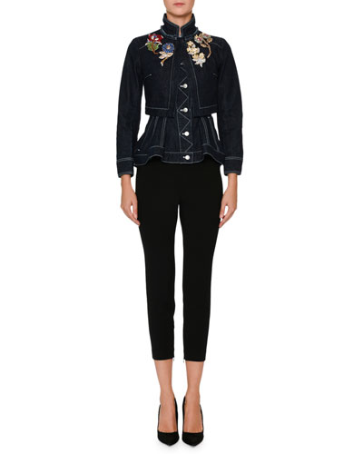 Cropped High-Waist Pants and Matching Items