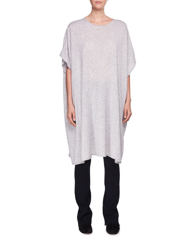 Cafty Cashmere-Silk Poncho and Matching Items