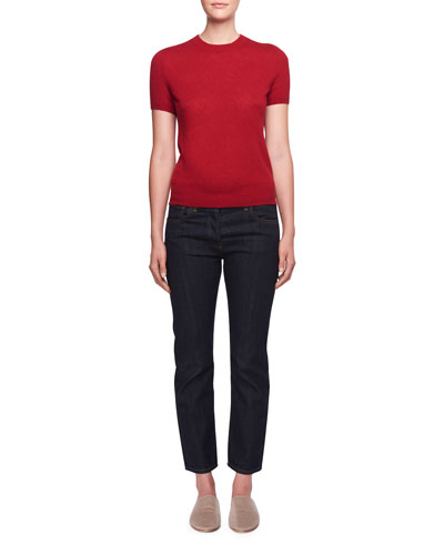 Ashland Slim-Leg Ankle Jeans and Matching Items