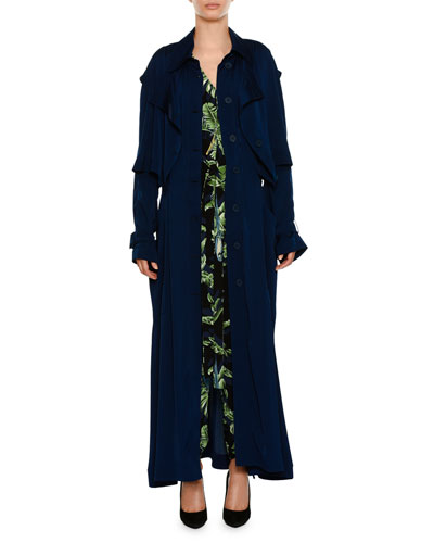 Birds Of Paradise V-Neck Drawstring-Hem Jumpsuit and Matching Items