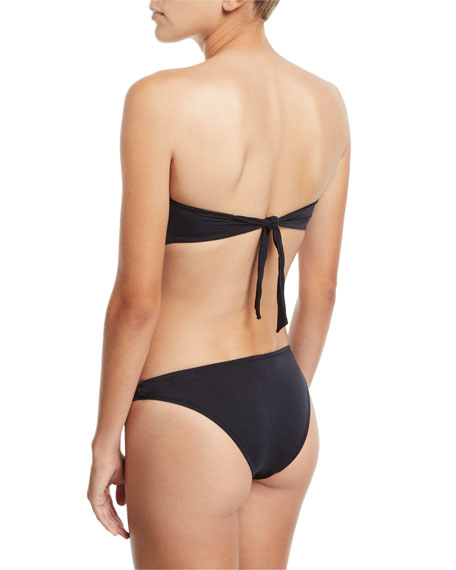 Barcelona Bandeau U-Ring Solid Swim Top