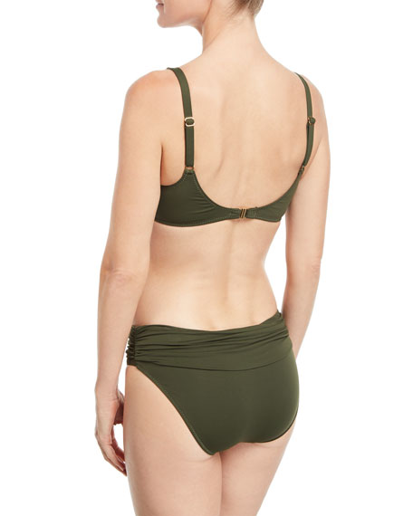 Bel Air Ruched Swim Top