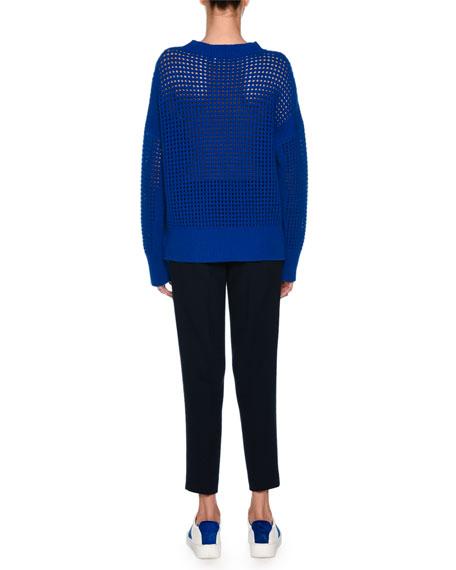Cashmere Net Sweatshirt
