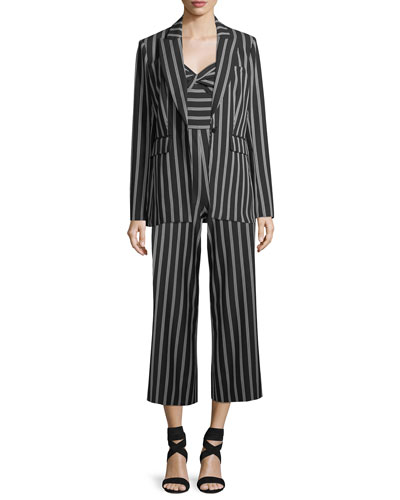 Cypress Strapless Striped Wide-Leg Jumpsuit and Matching Items