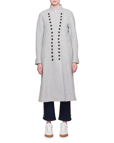 Notch-Collar Coat and Matching Items