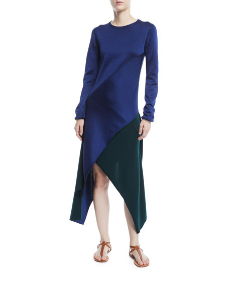 Reversible Pinwheel Midi Dress