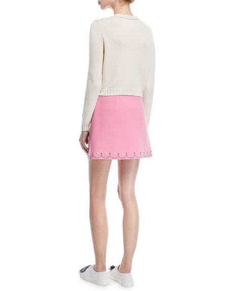 Knit Cashmere Cardigan