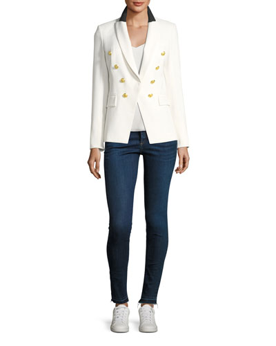 Kate Raw-Hem Skinny Jeans and Matching Items