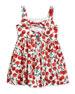 Emaline Cherry-Print Dress, Size 8-16