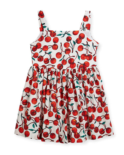 Emaline Cherry-Print Dress, Size 8-16  and Matching Items