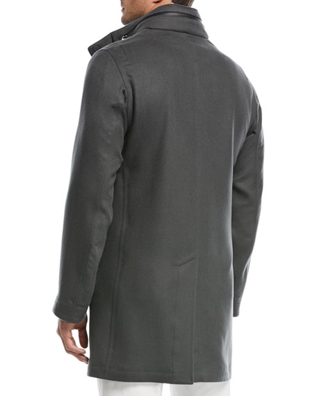 Shieldey Cashmere Winter Light Coat