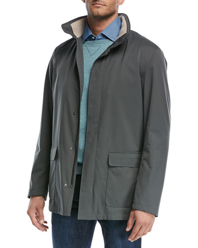 Voyager Zip-Front Coat and Matching Items