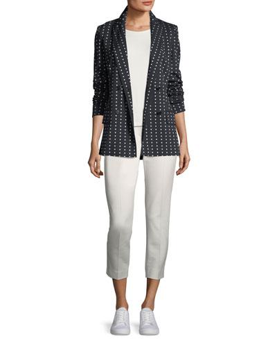 Polka Dot Jersey Jacket and Matching Items