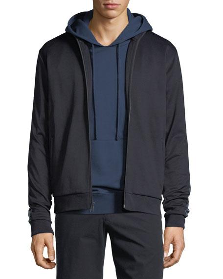 Zip-Front Track Jacket