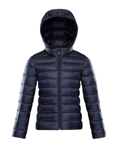 Iraida Hooded Lightweight Down Puffer Jacket  Navy  Size 4-6  and Matching Items
